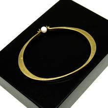 Load image into Gallery viewer, Jack Boyd Bracelet - Pearl Oval Bangle