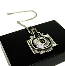 Load image into Gallery viewer, Guy Vidal Necklace - Futuristic Machine - Brutalist Modernist