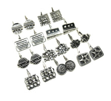 Load image into Gallery viewer, Guy Vidal Cufflinks - Fractured Squares