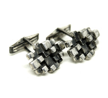 Load image into Gallery viewer, Guy Vidal Cufflinks - Stacked Cubes