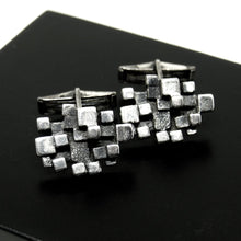 Guy Vidal Cufflinks - Stacked Cubes