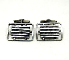 Load image into Gallery viewer, Large Guy Vidal Cufflinks - Radiator Grille