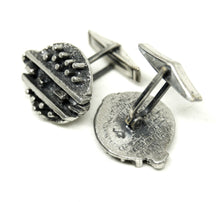 Guy Vidal Cufflinks - Spikes & Dashes
