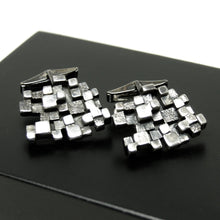 Large Guy Vidal Cufflinks - Stacked Cubes