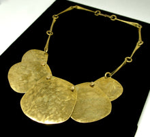 Load image into Gallery viewer, Joseph Boris Brass Necklace - Circular Statement