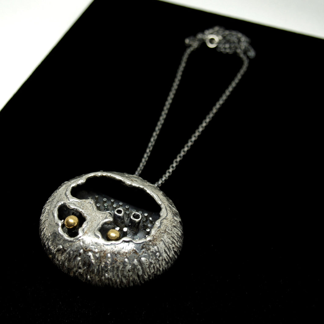Rare Guy Vidal Pod Necklace - Brutalist Modernist