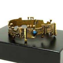 Load image into Gallery viewer, Jozsef Peri Architectural Bracelet -  Hungarian Modernist