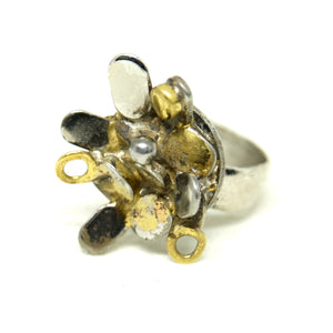 Richard Bitterman Mixed Metal Ring - Size 5.5