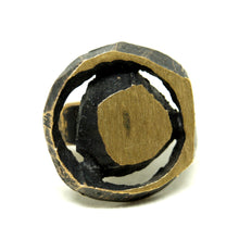 Load image into Gallery viewer, Karl Laine Geometric Ring - Modernist Bronze