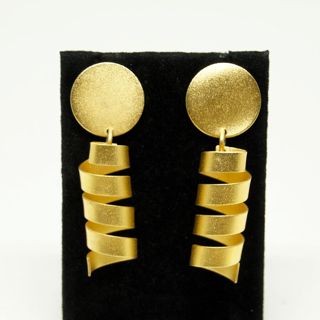 Martha Sturdy Spiral Earrings - Modernist