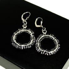 Load image into Gallery viewer, Robert Larin Soleil Earrings - Modernist Brutalist