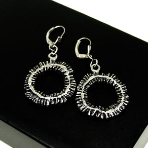 Robert Larin Soleil Earrings - Modernist Brutalist