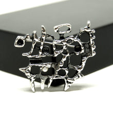 Load image into Gallery viewer, Guy Vidal Brooch - Man on Horse