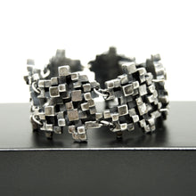 Load image into Gallery viewer, Guy Vidal Cubist Bracelet - Modernist - Stacked Cubes