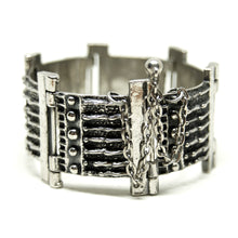 Load image into Gallery viewer, Robert Larin Bracelet - Iron Gates Design - Modernist