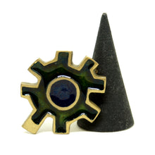 Load image into Gallery viewer, Bernard Chaudron Cog Brooch - Modernist