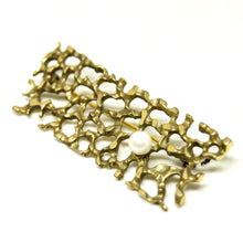 Load image into Gallery viewer, Bernard Chaudron Brooch - Creeping Vine - Modernist