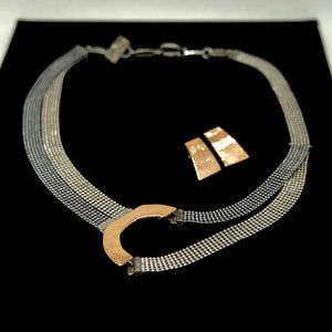 Anne Marie Chagnon Necklace & Earrings - Adenia 01 - Contemporary Designers