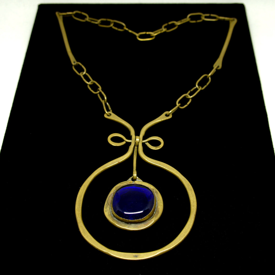 Early Rafael Canada Necklace - The Original in Dark Blue