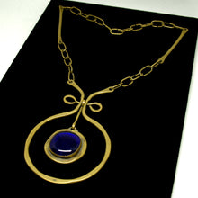 Load image into Gallery viewer, Early Rafael Canada Necklace - The Original in Dark Blue