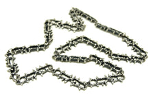 Load image into Gallery viewer, Guy Vidal Chain Necklace - Jagged Space - Modernist Brutalist