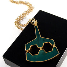 Load image into Gallery viewer, Bernard Chaudron Geometric Necklace