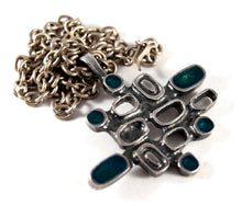 Bernard Chaudron Necklace - Stacked Shapes