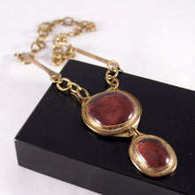 Load image into Gallery viewer, Rare Rafael Canada Necklace - Double Stone