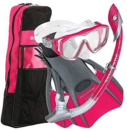 Aqua Lung Diva 2 LX Travel Bag Snorkel Set