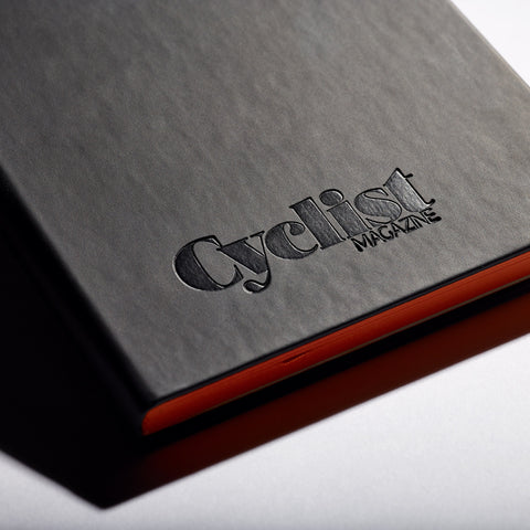 Cyclist Black Notebook