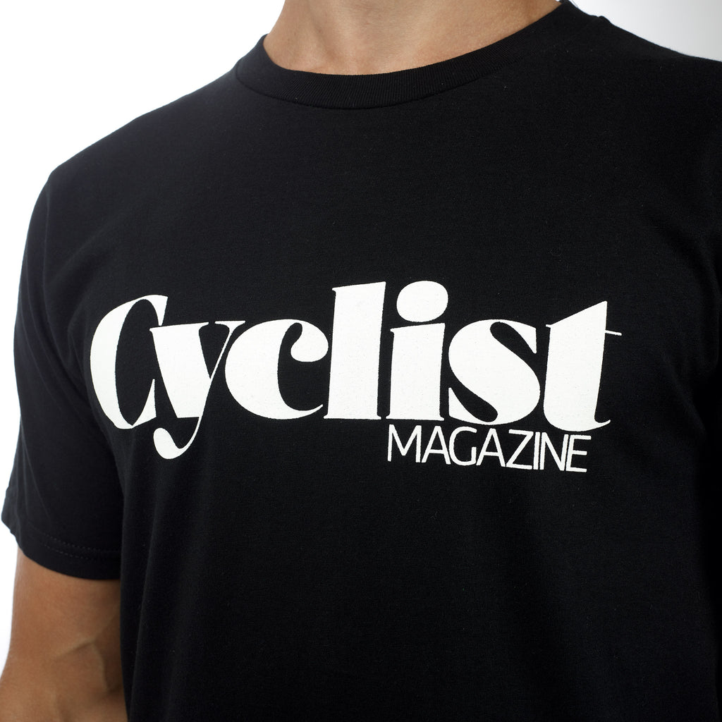 Cyclist Logo Black T-shirt