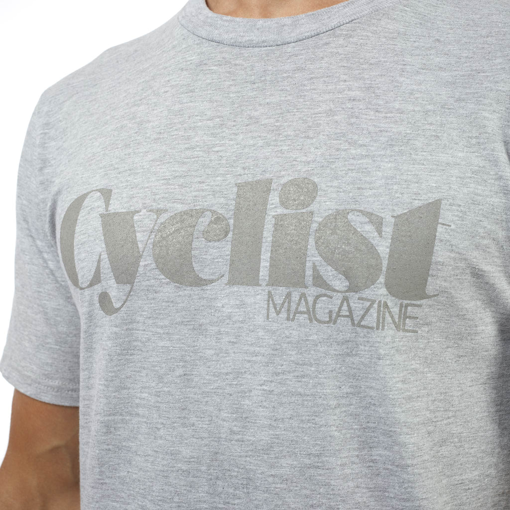 Cyclist Logo Grey T-shirt