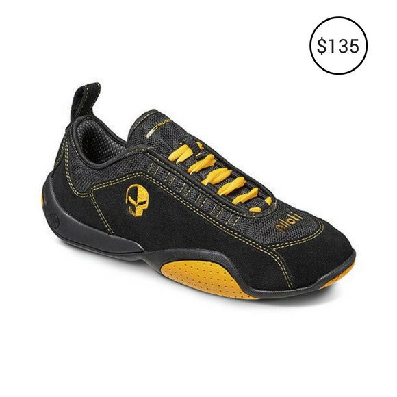 CORVETTE LIMITED EDITION DRIVING SHOES BLACK-YELLOW