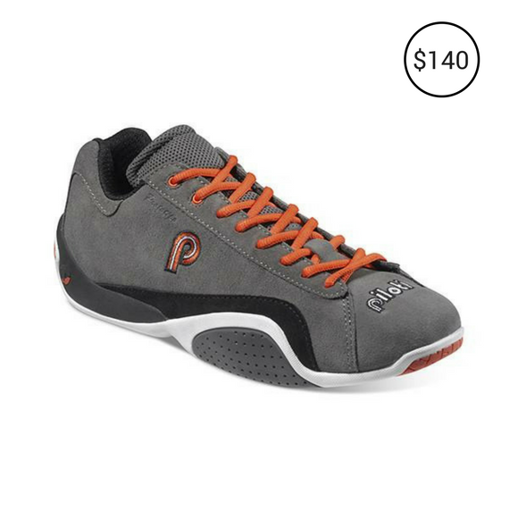 PROTOTIPO CHARCOAL ORANGE WHITE CASUAL DRIVING SHOE