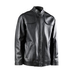 FLORENCE LEATHER JACKET-BLACK