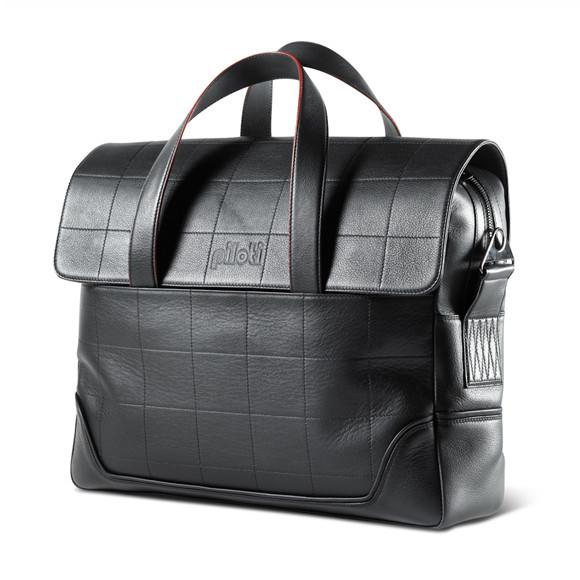 MEDIO LAP TOP BAG-BLACK