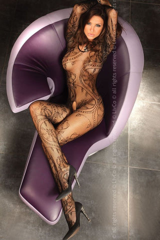 Bodystocking LivCo Corsetti Fashion Abra Plus [diabella_lingerie]