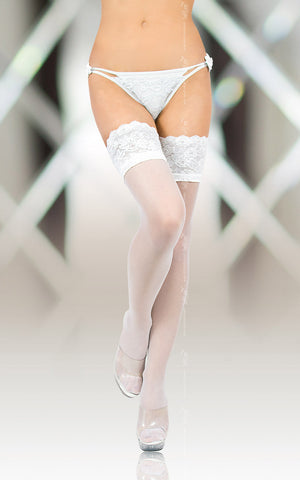 Stockings Softline Collection 5508 - white [diabella_lingerie]