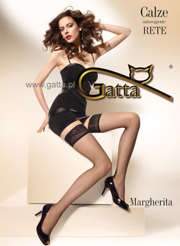 Stockings Gatta Margherita 01 white [diabella_lingerie]