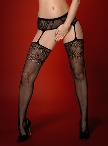 Garter Stockings Obsessive S225