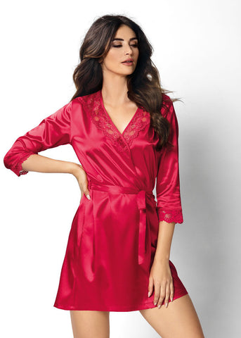 Dressing gown Donna Venus red