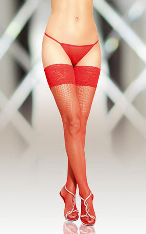 Stockings Softline Collection 5537 Red [diabella_lingerie]