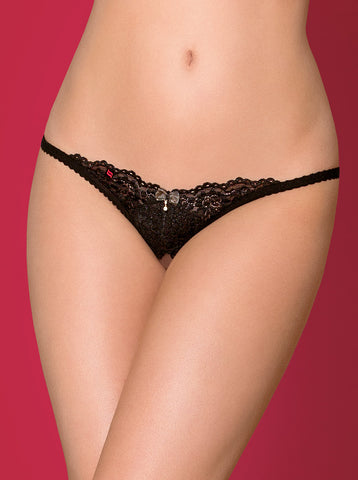 Crotchless thong Obsessive 852-THC-1