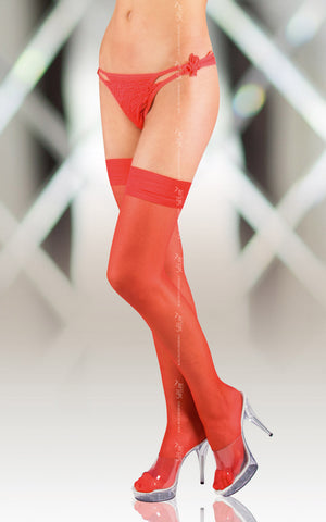 Stockings Softline 5513 Red [diabella_lingerie]