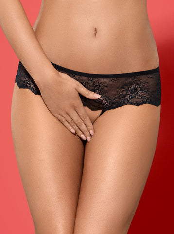 Crotchless panties Obsessive Merossa [diabella_lingerie]