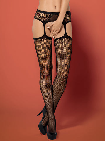 Garter Stockings Obsessive S232