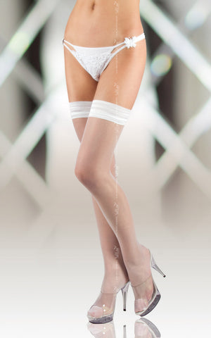 Stockings Softline 5513 White [diabella_lingerie]