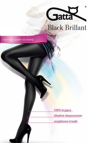 Tights Gatta Black Brillant [diabella_lingerie]
