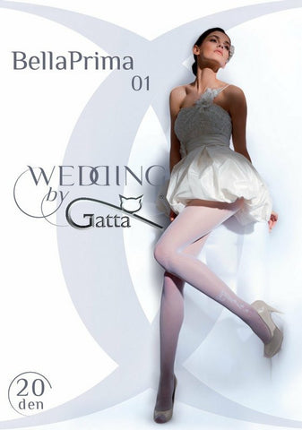 Wedding tights Gatta Bella Prima 01 [diabella_lingerie]