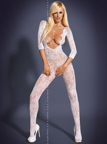 Bodystocking F200 white [diabella_lingerie]